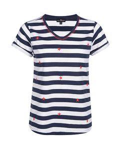 gestreiftes Sweatshirt mit Kapuze   Via Cortesa   ADLER Mode Onlineshop Outfit, Sweatshirt, Shirts, Fashion, Fashion Styles, Stripes, Cowl, Curve Dresses, Eagle