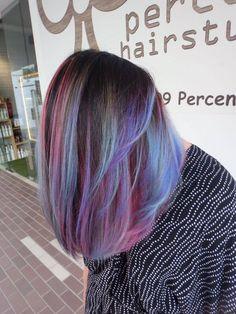 dimensional blue hair color - Google Search