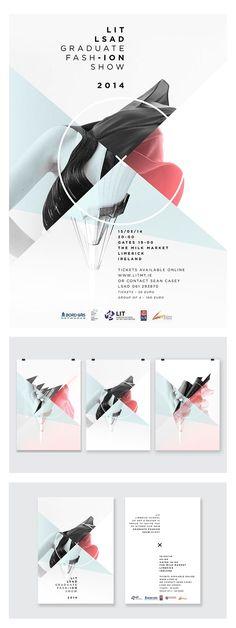 LIT LSAD Fashion Graduate Show 2014 - #editorial #design #layout