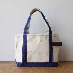 TEMBEA book tote(canvas×leather)