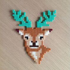 Deer hama beads by krea83                                                                                                                                                                                 More
