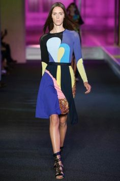 Peter Pilotto Spring/Summer 2015 - GLAMOUR.nl