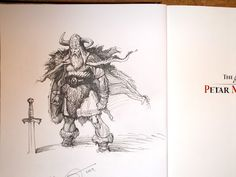 By Petar Meseldzija During the past weekend, I attended a comic . Character Concept, Concept Art, Comic Conventions, Viking Symbols, Viking Tattoos, Fantasy Illustration, Character Design References, Scribble, Line Art