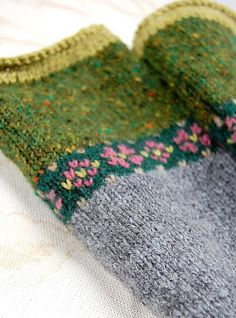 Ravelry: hgd11's Fair Isle Fingerless Mitts