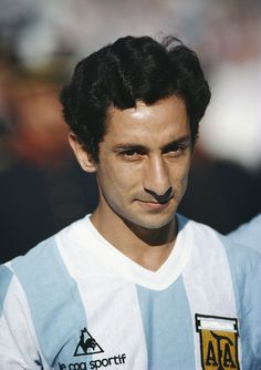 Osvaldo Ardiles of Argentina looks on before the Copa De Oro match between Argentina and Brazil on January 4, 1981 in Montevideo, Uruguay