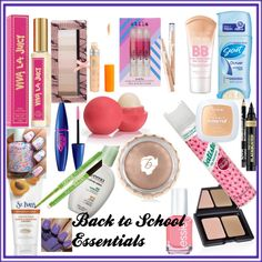 """Back to School Essentials"" by styleiseverything14 on Polyvore"