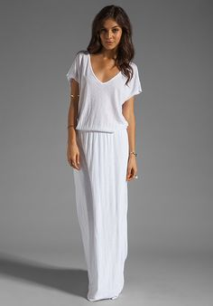 I adore maxi skirt in pure white for summer how lovely and you can do it on any budget such a statement for summer 2015 the year of boho chic