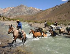 From Chile to Argentina on horseback