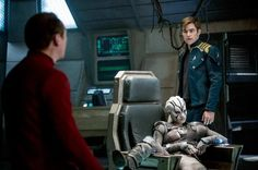Basically me in the Captain's chair. 'Star Trek: Beyond' (2016)