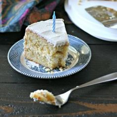 Grain Free Vanilla Bean Bday Cake