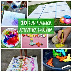 10 Fun Summer Activi