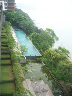 The Lalu heated pool in Taiwan.