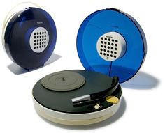 Philips Retro Record Player model 22GF
