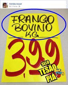 Frango Bovino?
