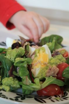 Salad Nicoise with Avocado Vinaigrette: My Finnish Delights Blog