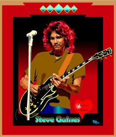 Steve Gaines of Lynyrd Skynyrd~ Steve Gaines, Ronnie Van Zant, Classic Blues, Lynyrd Skynyrd, Old Music, Tour Posters, Blues Rock, Great Bands, Southern Style
