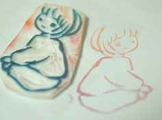 inexpensive handmade stamps in less than an hour!
