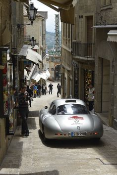 Day 2 of the Mille Miglia. Italy