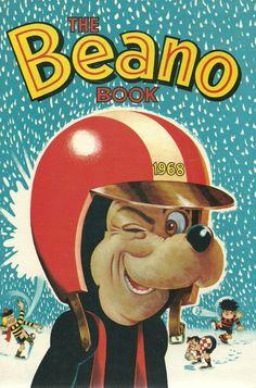 The Beano Book 1968 - David Sutherland cover