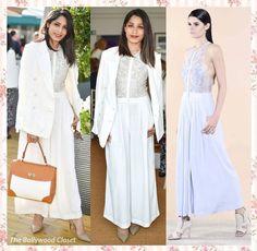 Freida pinto # Rohit Gandhi Rahul Khanna # office look # white crispness # fusion office wear