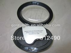 LED light Gem Magnifying Glass for diamond