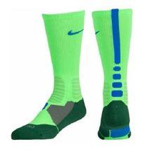 Nike Hyper Elite Basketball Crew Men's Socks Shoe Size 8-12 Gift Blue SX4801-344 #Nike #Athletic