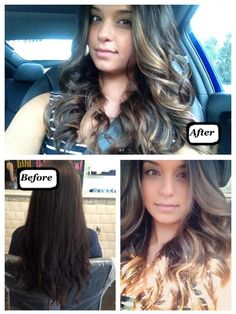 Before and After Ombre - Sara Koonar
