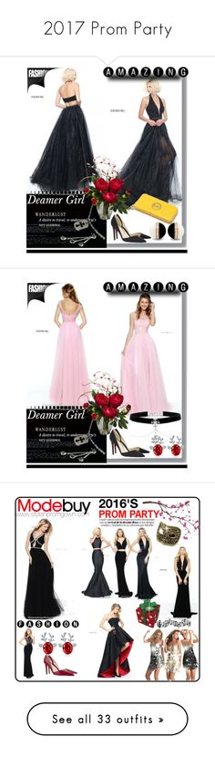 """""""2017 Prom Party"""" by evermissjody ❤ liked on Polyvore featuring Chrome Hearts, Nearly Natural, Surface Collective, Design Fidelity, WALL, Manic Panic NYC, Michael Kors, Christian Louboutin, Haute Hippie and Whiteley"""