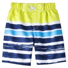 Circo® Infant Toddler Boys' Stripe Swim Trunk  C-man's suit for this year!  Super cute.  I may still need to get a rash guard for him.