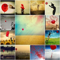 Things I love Thursday... symbolism (what does the red balloon mean to you?) by Abby Lanes, via Flickr