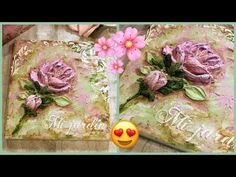 """(11) COMO HACER PASTA PARA """"PINTURA ESCULTURAL"""" - YouTube Cake Painting Tutorial, Painting Tutorials, Clay Art Projects, Knife Art, Sculpture Painting, Painted Cakes, Diy Cardboard, Handmade Polymer Clay, Cold Porcelain"""