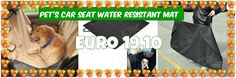 Pet's Dog Cat Car Seat Water Resistant Mat from 29,= for Euro 19,10