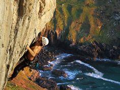 Go rock climbing.