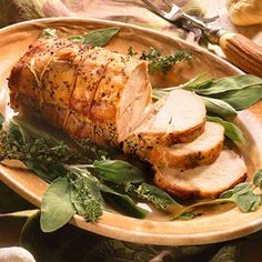 Tired of turkey? This Garlic-Studded Pork Loin Roast would make a gorgeous holiday main course -- or for any meal on Phase 2 or Phase 3 (it's not only gorgeous, it's incredibly easy!)