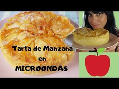 Tarta de MANZANA EXPRÉS al MICROONDAS ( una textura y sabor SORPRENDENTE ) - YouTube Microwave Recipes, Pineapple, Muffin, Fruit, Chocolates, Breakfast, Natural, Food, Youtube