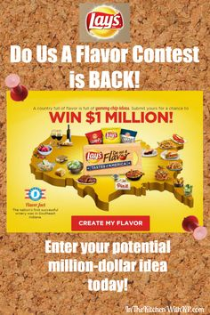 """In The Kitchen With KP Lay's """"Do Us A Flavor"""" Contest is BACK! Have You Entered? #DoUsAFlavor #CleverGirls #sponsored - In The Kitchen With KP"""