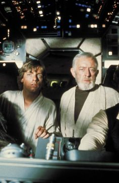 Luke Skywalker and Obi-Wan (Ben) Kenobi - Star Wars