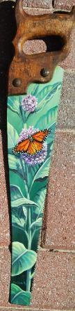 Walnut Street Studio Hand Painted Saws