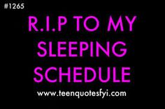 NO SLEEP EVER!!