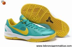 821defbfccb7 Sale Cheap Nike Black Mamba 24 Kobe New Green Yellow 579756 401 Basketball  Shoes Shop
