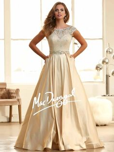 2015 Prom Dresses Bateau Ball Gown Lace Bodice With Long Taffeta Skirt Sweep  Train - Evening Dresses - Special Occasion Dresses - Wedding   Events fa41d50e0