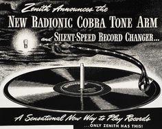 radionic cobra tone arm