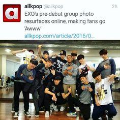 They are ❤ Exo predebut Funny Kpop Memes, Exo Memes, Exo Ot12, Chanbaek, Kyungsoo, Chanyeol, 5 Years With Exo, Xiuchen, Kim Junmyeon