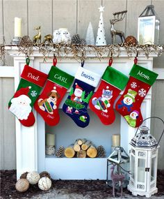 Etsy Fishing Christmas Stocking - Personalized