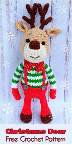 Amigurumi Deer Marley [Free Crochet Pattern]
