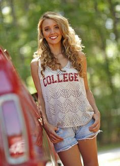 Giveaway Alert: @Twelve Saturdays is giving away TWO #College #Tanks on #TheStyleRef this week! Click to enter! #fashion #backtoschool #students #alumni #collegefootball #style www.thestyleref.com
