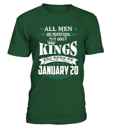 Kings are born on January 20  #gift #idea #shirt #image #funny #new #top #best #videogame #tvshow #like