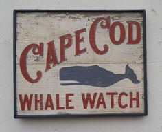 Nautical and Beach Signs Nantucket Cottage, Beach Cottage Style, Beach Cottage Decor, Coastal Cottage, Nantucket Decor, Beach House, Seaside Decor, Coastal Decor, Whale Decor