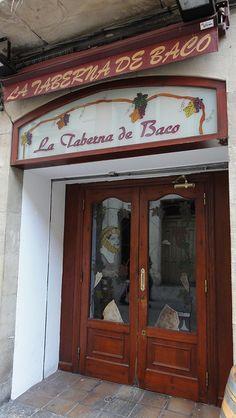 La Taberna de Baco. #bares