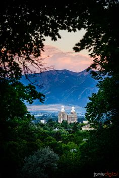 Logan, Utah LDS Temple  #LDSTemples #MormonTemples #Gospel